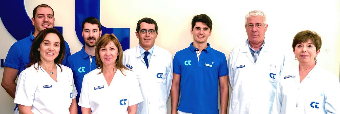 Equipo de la clinica Doctor Baró Pazos